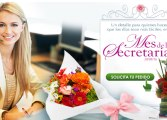 Teleflores invita a celebrar el Día de la Secretaria