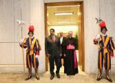 Maduro agradeció al Papa Francisco su intervención en el diálogo