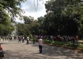 PNB repelió protesta de estudiantes de la UCV hacia Plaza Venezuela (+Fotos y Videos)