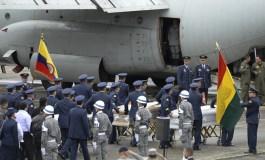 Ya repatriaron bolivianos fallecidos en accidente aéreo en Colombia