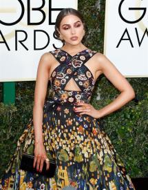 Olivia Culpo en la gala de los Golden Globes 2016