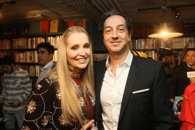 Titina Penzini y su esposo, Carlos Valedon