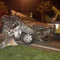 Carabobo: 4 muertos y dos heridos tras colisión de vehículo en San Diego