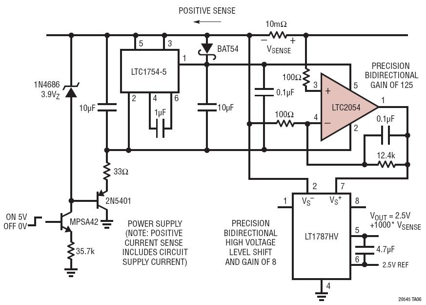 precise low voltage power supply