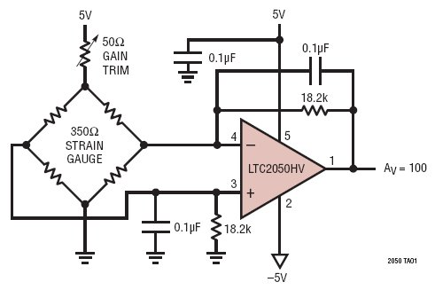 analog amplifier circuit