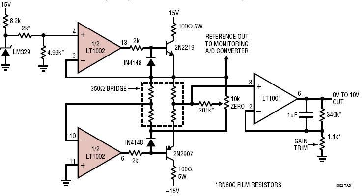 ad8221 precision strain gage amplifier