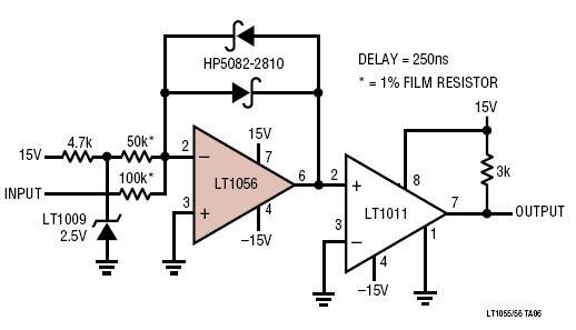 comparator circuit op amp