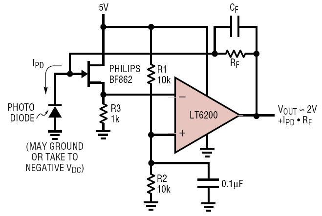 analog amplifier circuit