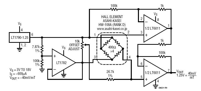 hall effect circuit