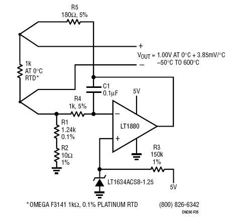 rtd circuit diagram
