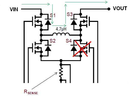 buck boost regulator circuit
