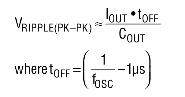 in to ldo efficiency vs frequency for the circuit in figure 1