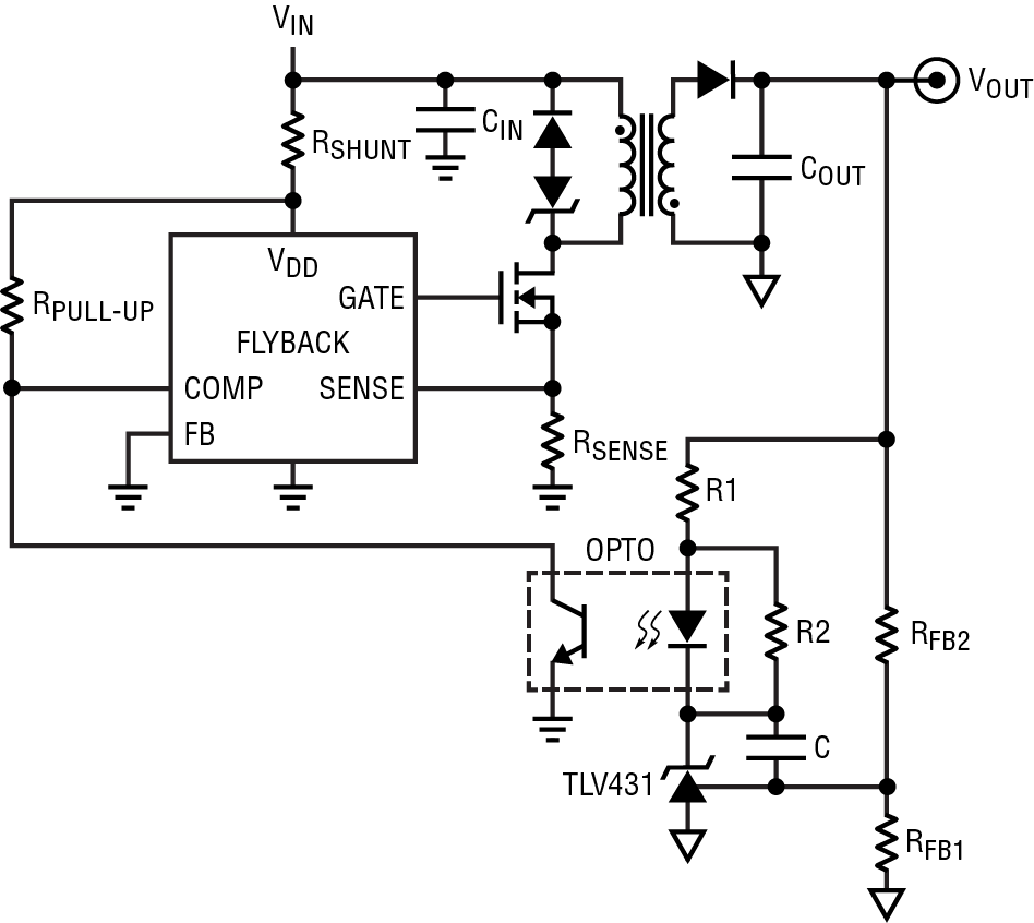 optocoupler circuit design