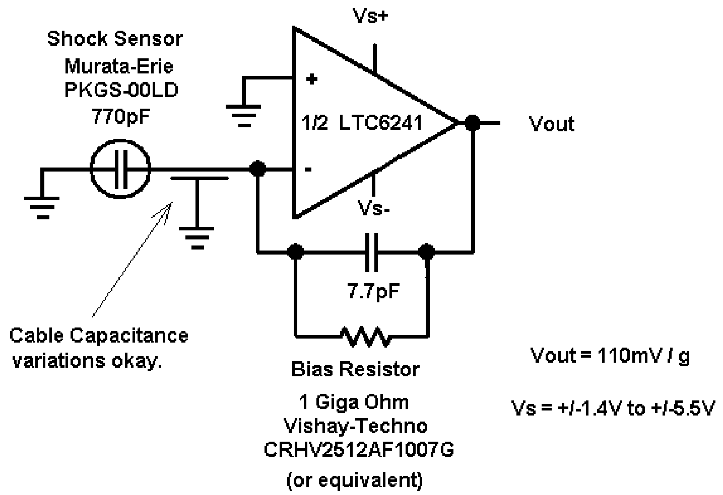 analog signal conditioning circuit