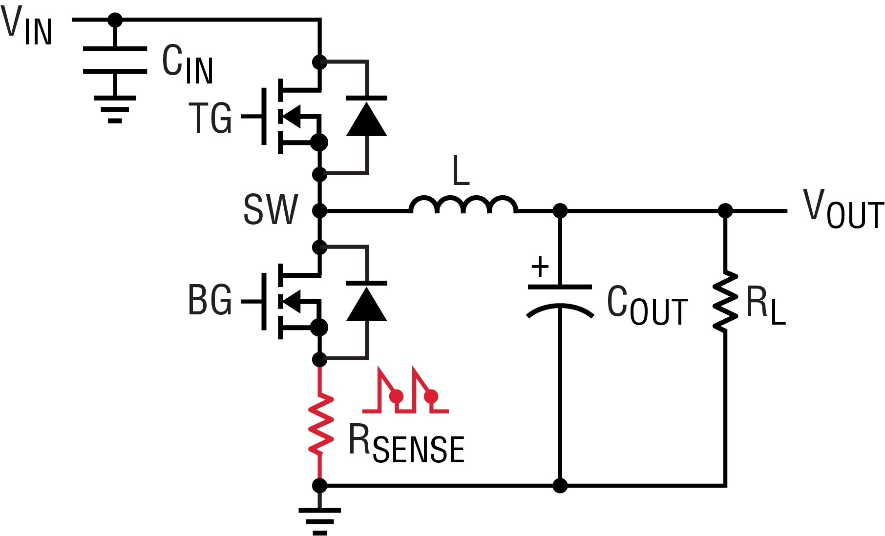 current sensing switch