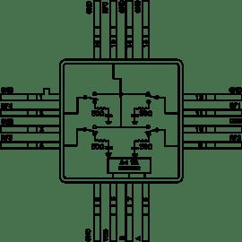 block diagram of 565