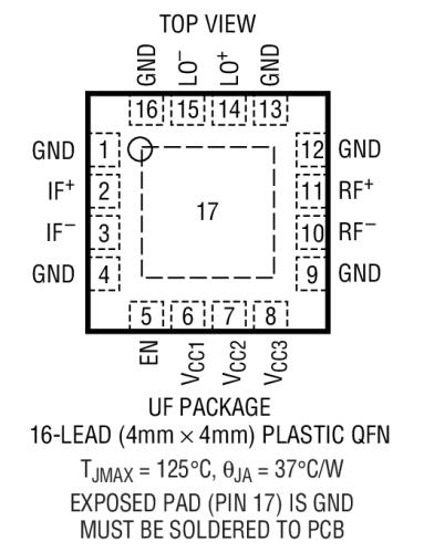 high linearity 4 6ghz rf mixer