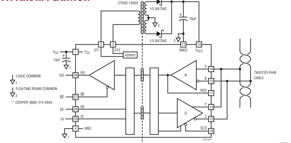 circuit allows slew rate control