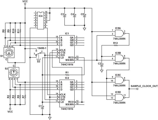 frequency divider circuit the circuit