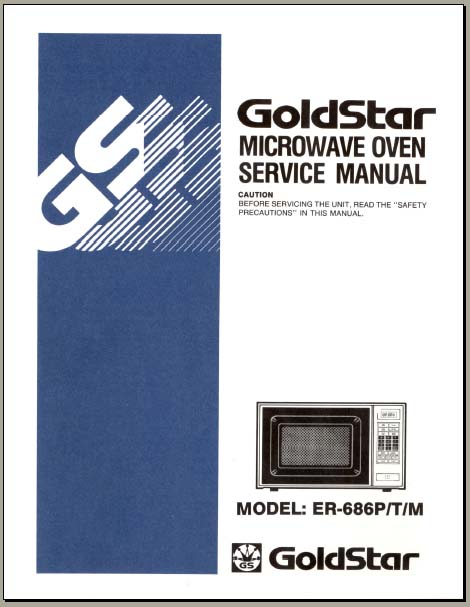 goldstar microwave mv1526w wiring diagram
