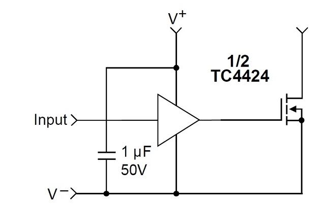 constant current relay driver