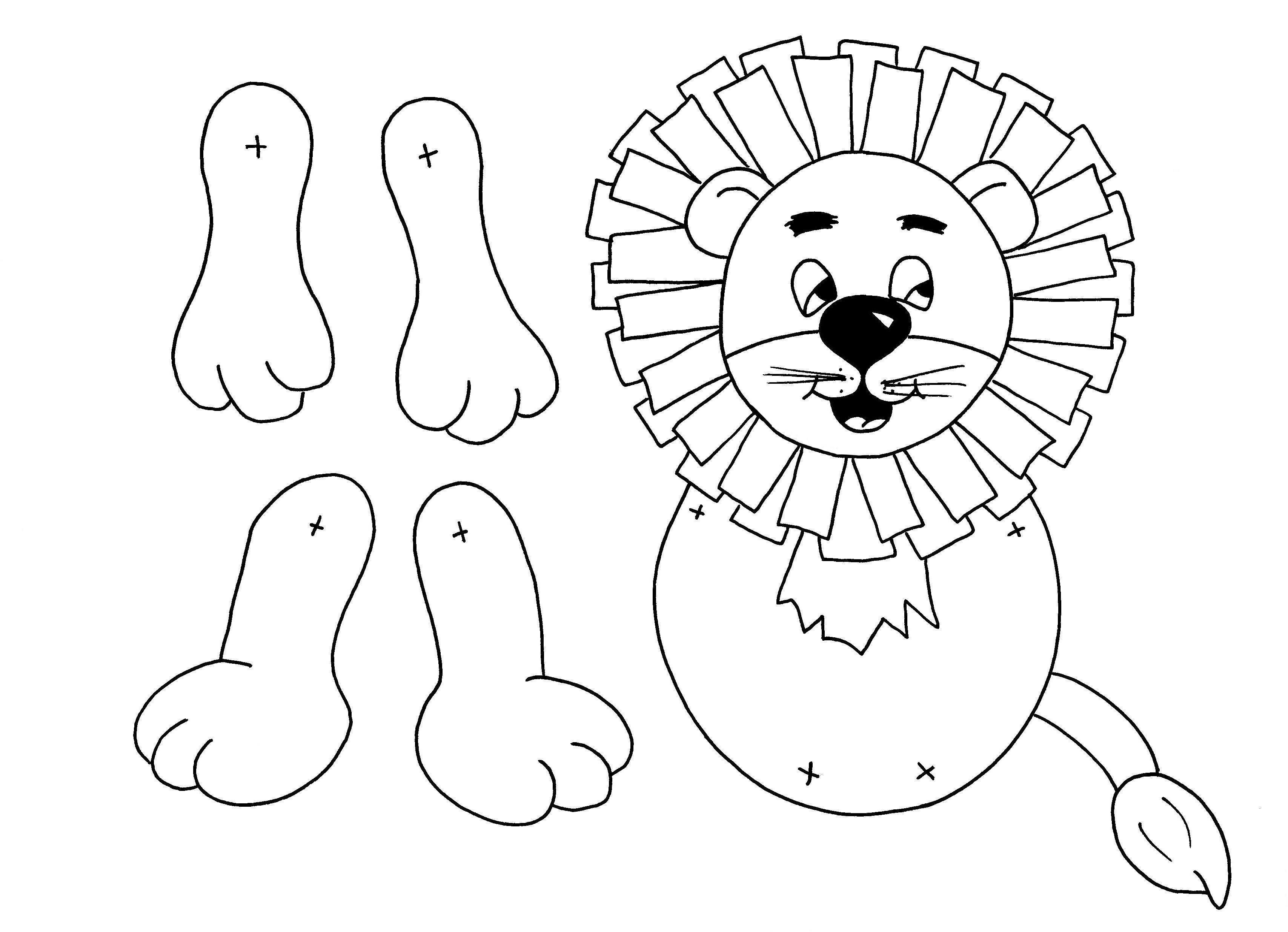 LionPuppet 20130801 091553 lion king mask template sample customer service resume on job description template for a waitress