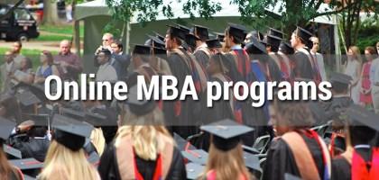 Online mba programs