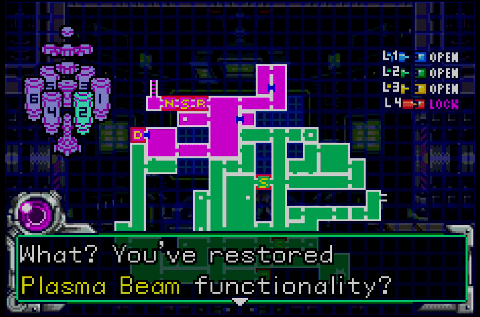 Metroid Fusion Screen Shot 7:4:15, 9.44 AM 1