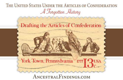 account of the history of the articles of confederation The articles of confederation served as the written document that established the functions of the national government of the united states after it declared independence from great britain it established a weak central government that mostly, but not entirely, prevented the individual states from conducting their own foreign diplomacy.
