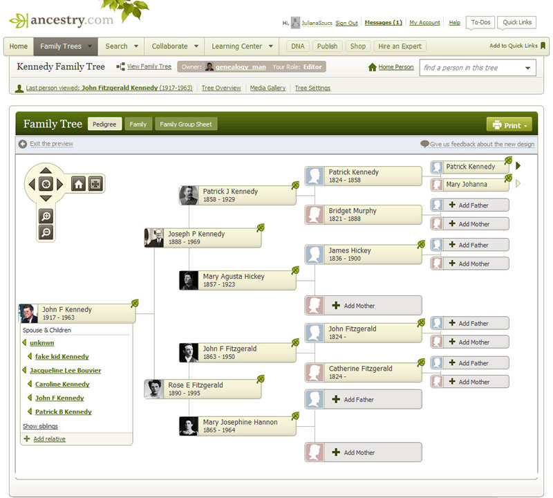 Family Tree Search Ancestry - build family tree online