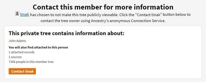 Family Tree Privacy