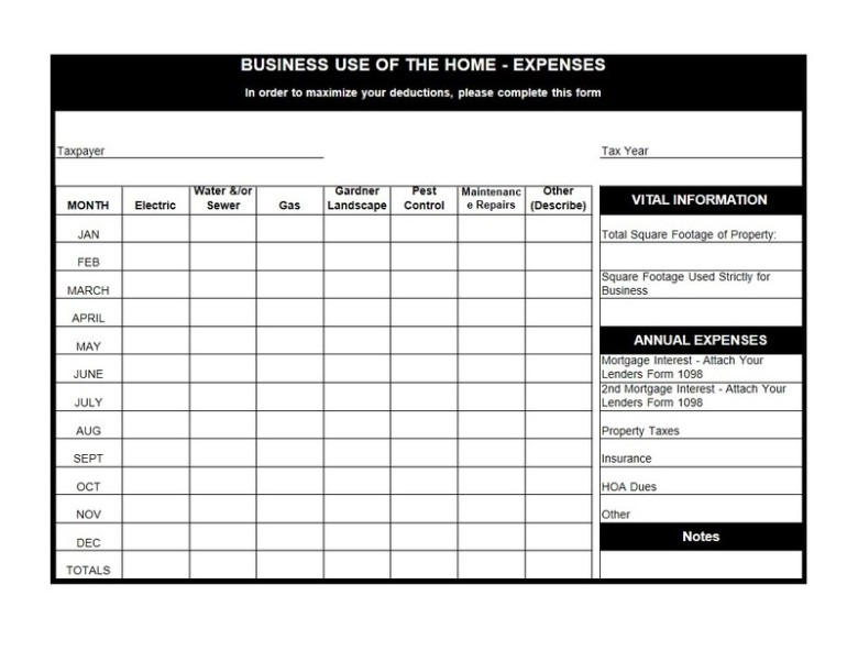 Worksheets Home Office Deduction Worksheet business use of home worksheet delibertad irs office deduction delibertad