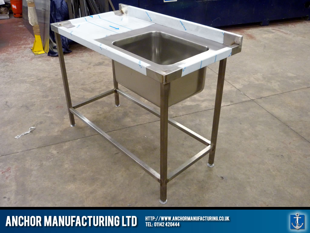 Wall Bench Kitchen Sink Anchor Manufacturing Ltd