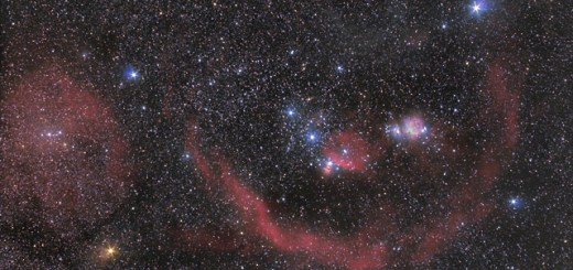 The constellation of Orion by Scott Rosen Astrophotography. http://www.astronomersdoitinthedark.com/index.php?c=153&p=472