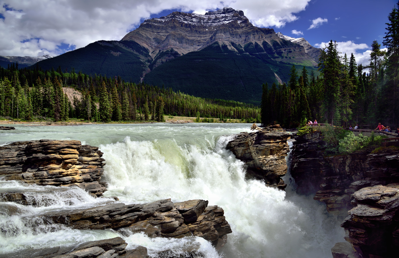 Wallpaper Of Water Fall Jasper National Park Canada Ancient Origins