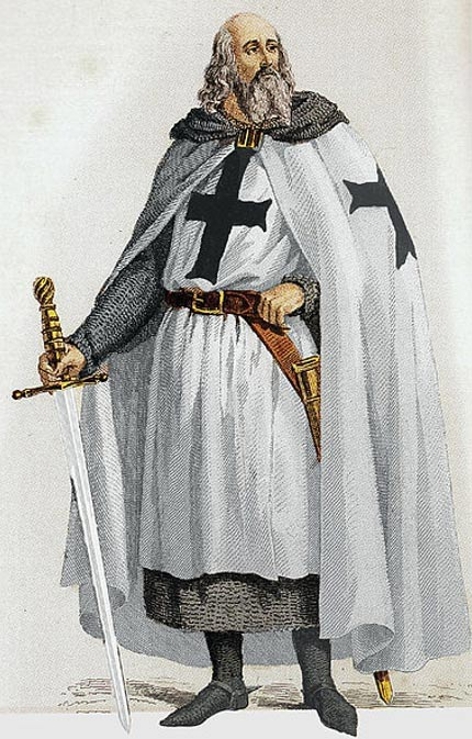 Jacques de Molay, el último Gran Maestre de la Orden del Temple.