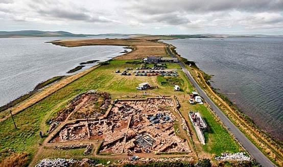 Orkney dig site
