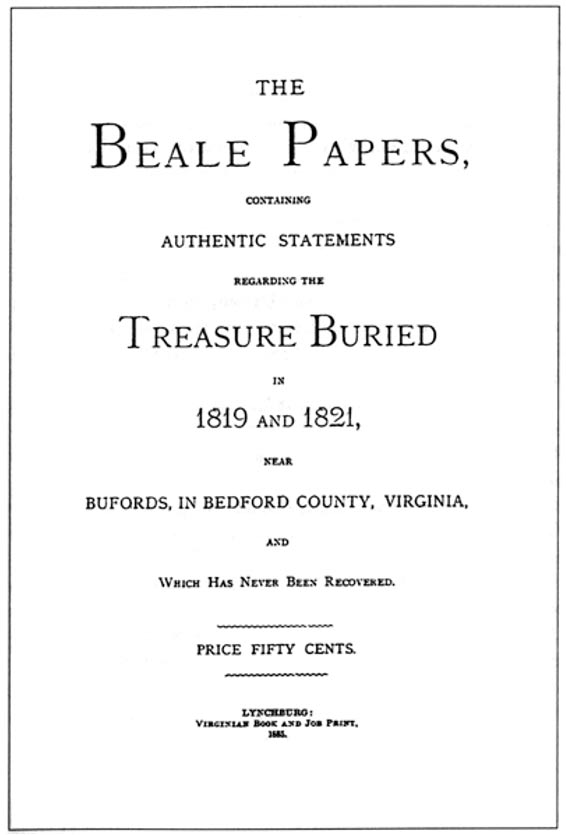 The Lost Treasure of the Beale Ciphers Ancient Origins