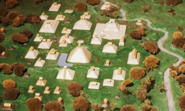 Izapa Temple Center Model by Garth Norman