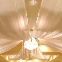 Hardware for Four Panel Ceiling Fabric Drape Kit | Anderson's