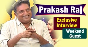 Prakash Raj Exclusive Interview – Weekend Guest