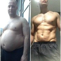 How Simon Tasker Lost 77 Pounds