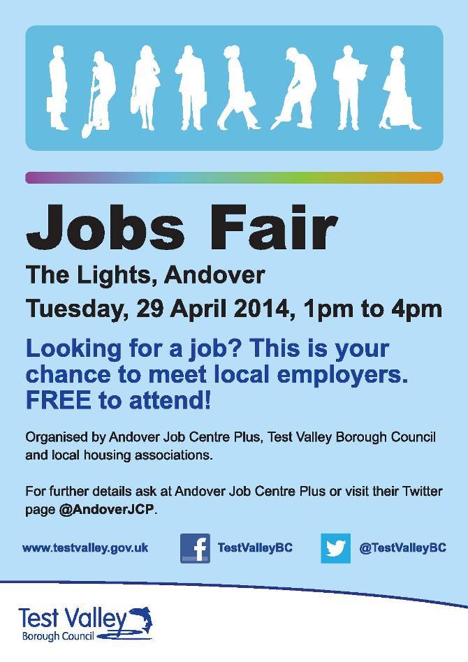 Job Fair at The Lights - Andover Town News - what to ask at a job fair