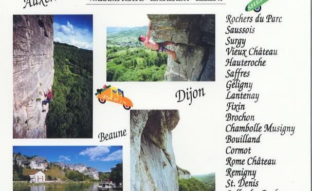 Kletterführer Burgund: Bourgogne OnSight