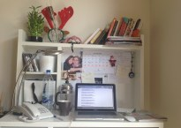 My lovely workspace