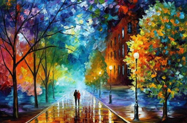 Beautiful-Oil-Paintings-by-Leonid-Afremov-using-palette-knife-13