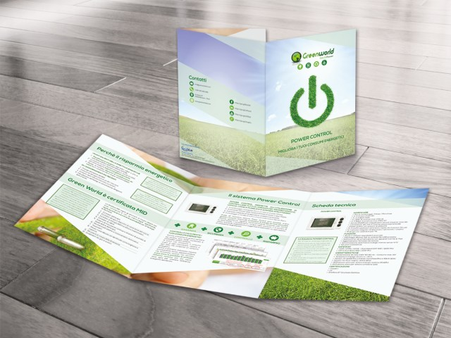 Brochure A4 tre ante Green World