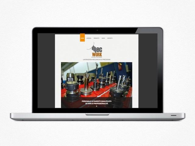Realizzazione sito web Mecwork