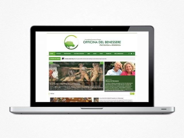 Realizzazione sito web Officina del Benessere