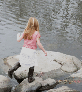 Rock hopping